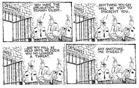 Nick Anderson  Nick Anderson's Editorial Cartoons 2004-01-14 security