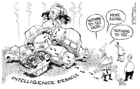 Cartoonist Nick Anderson  Nick Anderson's Editorial Cartoons 2004-01-30 disaster