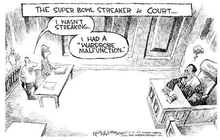 Cartoonist Nick Anderson  Nick Anderson's Editorial Cartoons 2004-02-03 bowl