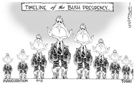Nick Anderson  Nick Anderson's Editorial Cartoons 2004-02-10 inauguration