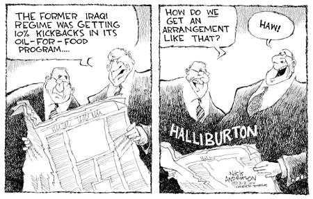 Nick Anderson  Nick Anderson's Editorial Cartoons 2004-03-02 corruption
