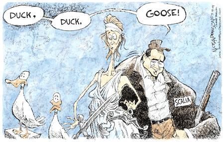 Nick Anderson  Nick Anderson's Editorial Cartoons 2004-03-19 supreme court judge