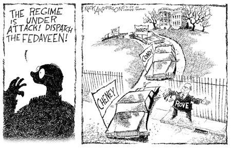 Nick Anderson  Nick Anderson's Editorial Cartoons 2004-03-25 security