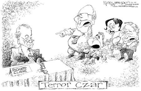 Nick Anderson  Nick Anderson's Editorial Cartoons 2004-03-26 security
