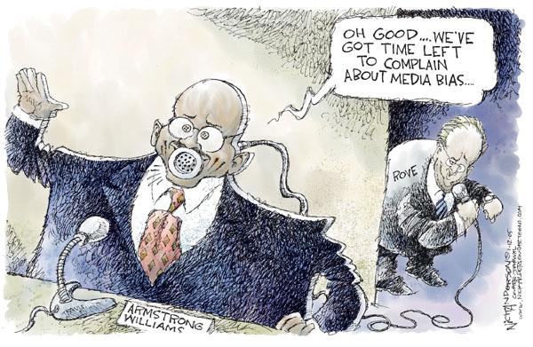 Cartoonist Nick Anderson  Nick Anderson's Editorial Cartoons 2005-01-12 media bias