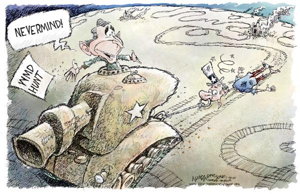 Cartoonist Nick Anderson  Nick Anderson's Editorial Cartoons 2005-01-14 tank