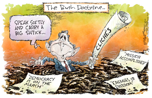 Cartoonist Nick Anderson  Nick Anderson's Editorial Cartoons 2005-01-16 enemy