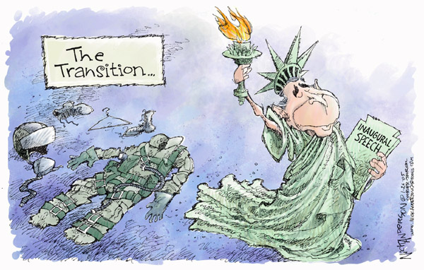 Nick Anderson  Nick Anderson's Editorial Cartoons 2005-01-26 Abraham Lincoln