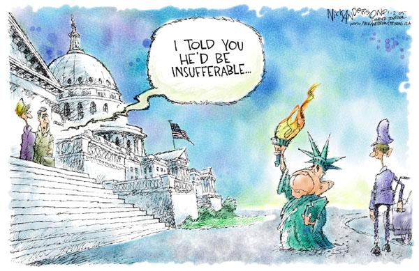 Cartoonist Nick Anderson  Nick Anderson's Editorial Cartoons 2005-02-02 torch