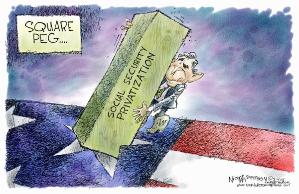 Cartoonist Nick Anderson  Nick Anderson's Editorial Cartoons 2005-03-04 star