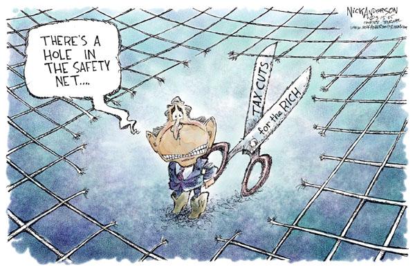 Cartoonist Nick Anderson  Nick Anderson's Editorial Cartoons 2005-03-15 social security