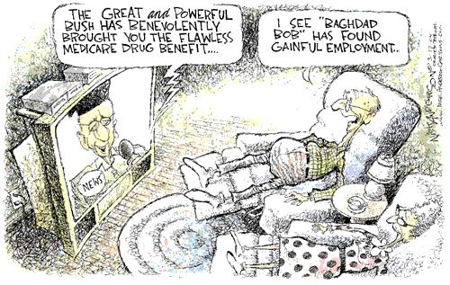 Cartoonist Nick Anderson  Nick Anderson's Editorial Cartoons 2004-03-17 reliability