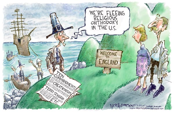Cartoonist Nick Anderson  Nick Anderson's Editorial Cartoons 2005-03-24 Constitution