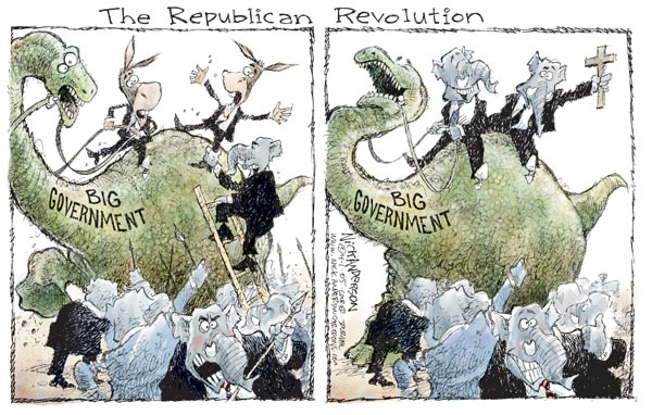 Nick Anderson  Nick Anderson's Editorial Cartoons 2005-04-01 republican democrat