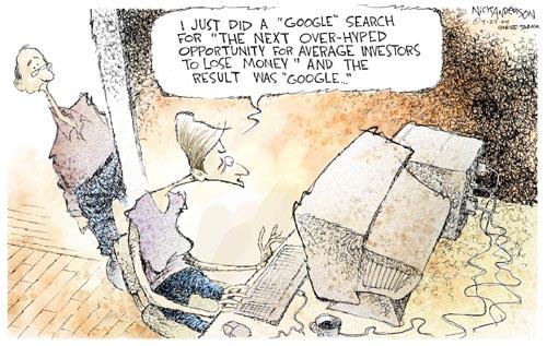 Cartoonist Nick Anderson  Nick Anderson's Editorial Cartoons 2004-04-27 technology