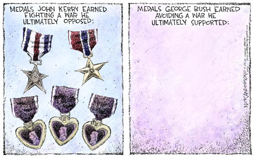 Nick Anderson  Nick Anderson's Editorial Cartoons 2004-04-29 military service