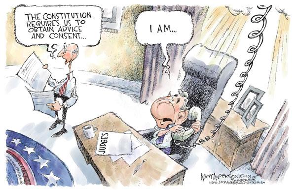 Cartoonist Nick Anderson  Nick Anderson's Editorial Cartoons 2005-04-29 Constitution