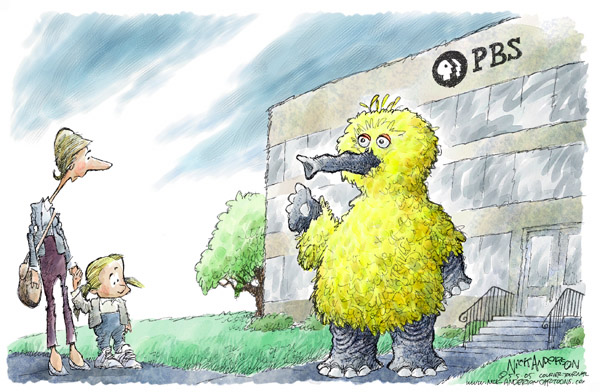 Nick Anderson  Nick Anderson's Editorial Cartoons 2005-05-05 freedom of the press