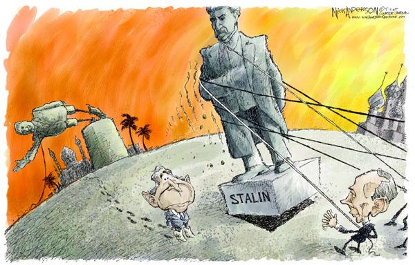 Nick Anderson  Nick Anderson's Editorial Cartoons 2005-05-11 Saddam