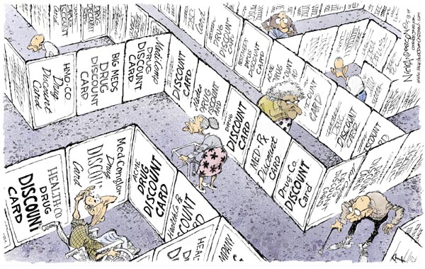 Cartoonist Nick Anderson  Nick Anderson's Editorial Cartoons 2004-05-13 choice