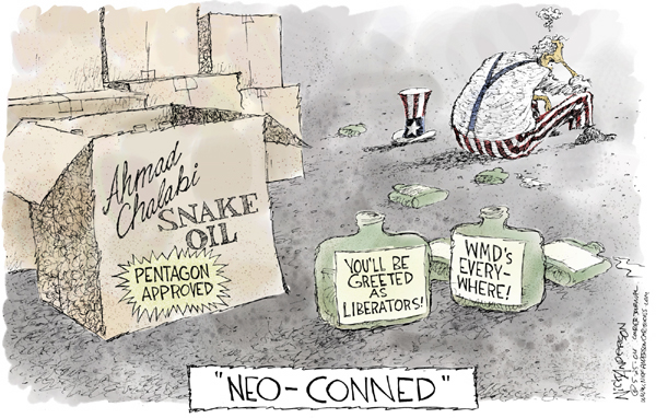 Nick Anderson  Nick Anderson's Editorial Cartoons 2004-05-24 Iran Iraq