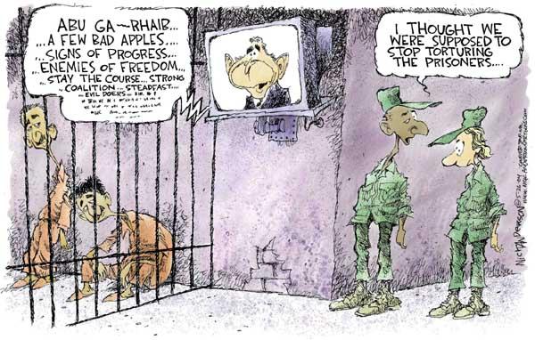 Cartoonist Nick Anderson  Nick Anderson's Editorial Cartoons 2004-05-26 enemy
