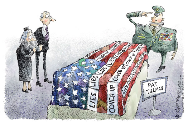 Nick Anderson  Nick Anderson's Editorial Cartoons 2005-05-29 military casualty