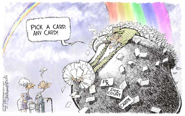 Cartoonist Nick Anderson  Nick Anderson's Editorial Cartoons 2004-06-02 choice