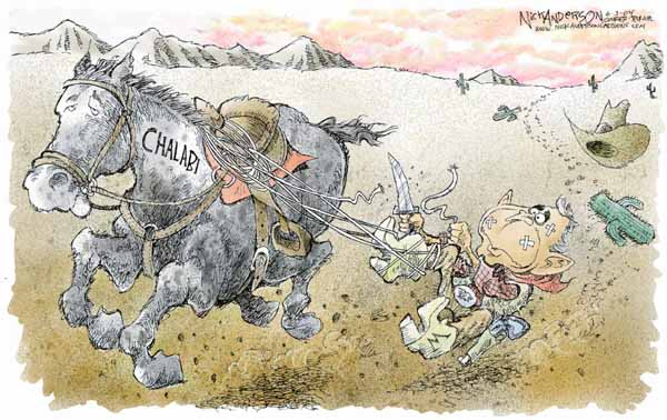 Cartoonist Nick Anderson  Nick Anderson's Editorial Cartoons 2004-06-03 name