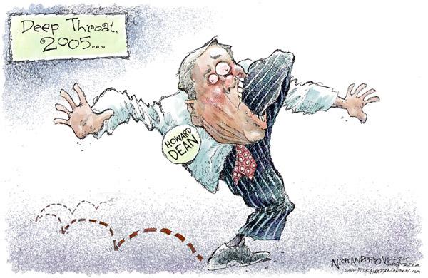 Cartoonist Nick Anderson  Nick Anderson's Editorial Cartoons 2005-06-08 critical