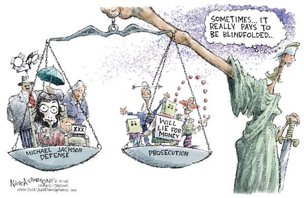 Cartoonist Nick Anderson  Nick Anderson's Editorial Cartoons 2005-06-15 testimony