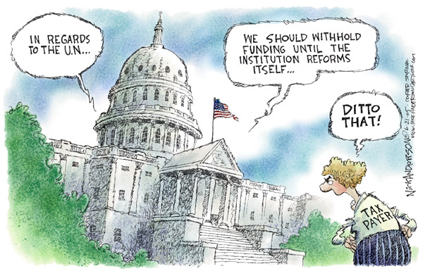 Cartoonist Nick Anderson  Nick Anderson's Editorial Cartoons 2005-06-21 hill