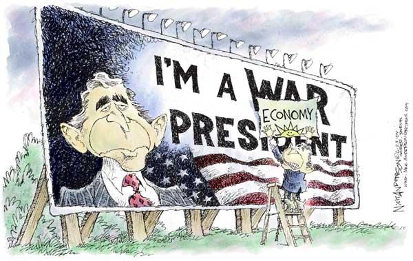 Cartoonist Nick Anderson  Nick Anderson's Editorial Cartoons 2004-06-23 billboard