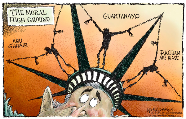 Nick Anderson  Nick Anderson's Editorial Cartoons 2005-06-23 detainee
