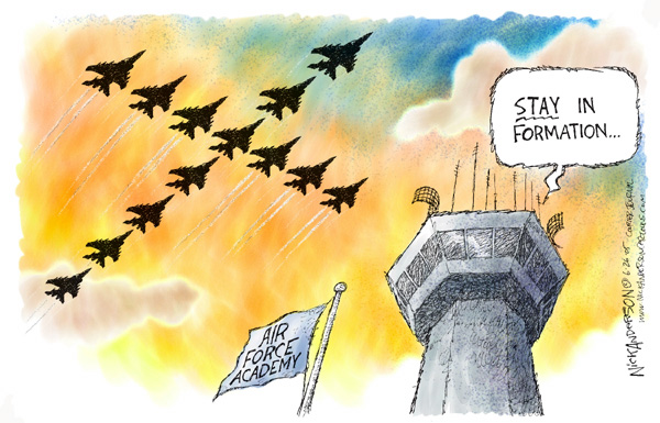 Nick Anderson  Nick Anderson's Editorial Cartoons 2005-06-26 Air Force