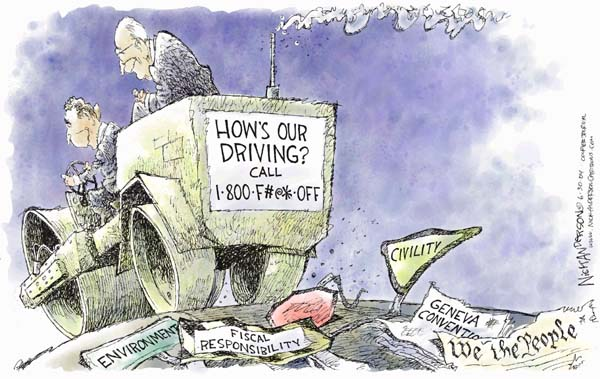 Cartoonist Nick Anderson  Nick Anderson's Editorial Cartoons 2004-06-30 2004 election