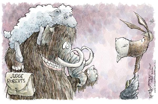Cartoonist Nick Anderson  Nick Anderson's Editorial Cartoons 2005-07-29 appointee