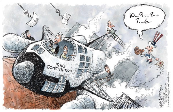 Cartoonist Nick Anderson  Nick Anderson's Editorial Cartoons 2005-08-02 Constitution