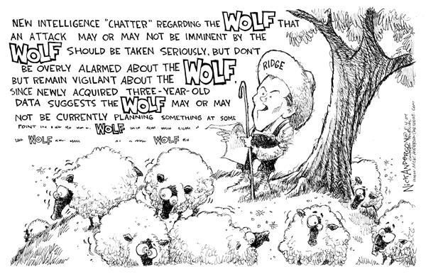 Nick Anderson  Nick Anderson's Editorial Cartoons 2004-08-04 security