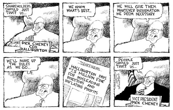Cartoonist Nick Anderson  Nick Anderson's Editorial Cartoons 2004-08-06 million