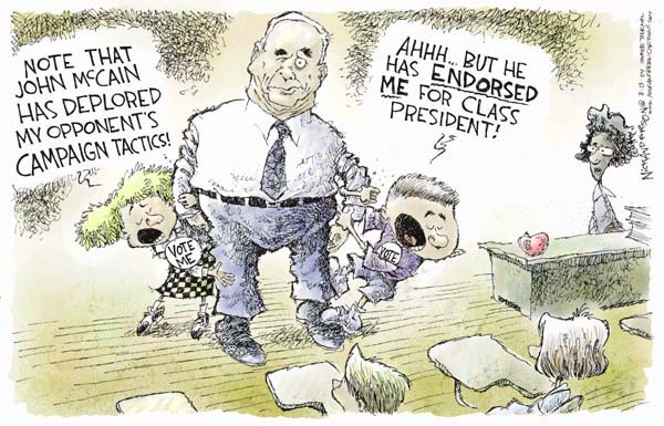 Cartoonist Nick Anderson  Nick Anderson's Editorial Cartoons 2004-08-13 presidential candidate
