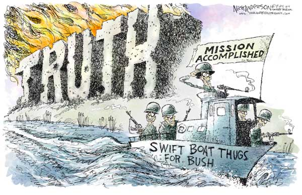 Nick Anderson  Nick Anderson's Editorial Cartoons 2004-08-24 military service