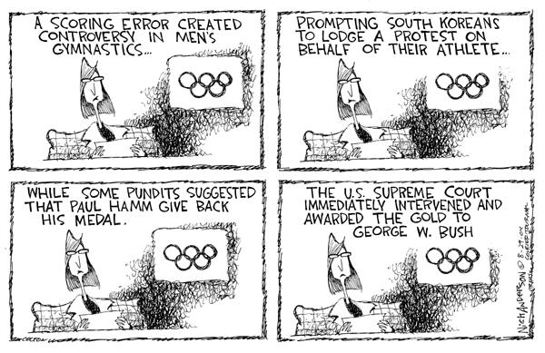 Nick Anderson  Nick Anderson's Editorial Cartoons 2004-08-29 summer Olympics