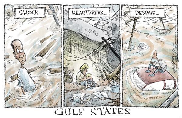 Cartoonist Nick Anderson  Nick Anderson's Editorial Cartoons 2005-09-01 aftermath