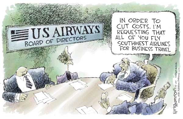 Nick Anderson  Nick Anderson's Editorial Cartoons 2004-09-14 airplane travel