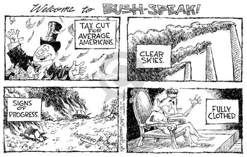 Cartoonist Nick Anderson  Nick Anderson's Editorial Cartoons 2003-10-28 contrast