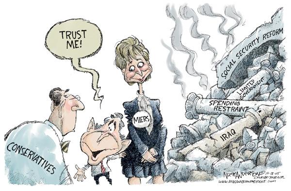 Cartoonist Nick Anderson  Nick Anderson's Editorial Cartoons 2005-10-18 social security