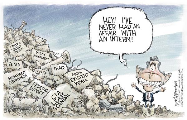 Nick Anderson  Nick Anderson's Editorial Cartoons 2005-10-27 corruption