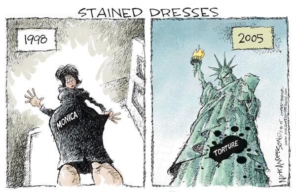 Cartoonist Nick Anderson  Nick Anderson's Editorial Cartoons 2005-11-08 morality