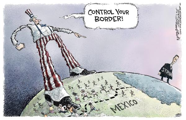 Cartoonist Nick Anderson  Nick Anderson's Editorial Cartoons 2005-11-09 control